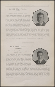 Page 17, 1916 Edition, Reading High School - Arxalma Yearbook (Reading, PA) online yearbook collection