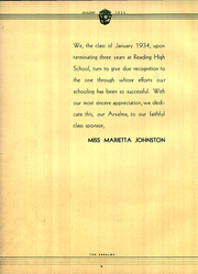 Page 14, 1923 Edition, Reading High School - Arxalma Yearbook (Reading, PA) online yearbook collection