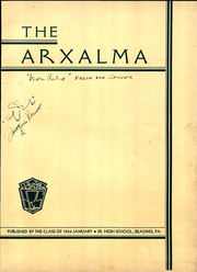 Page 7, 1923 Edition, Reading High School - Arxalma Yearbook (Reading, PA) online yearbook collection