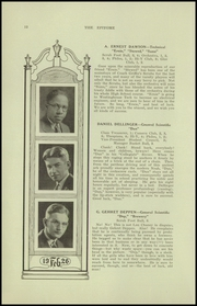 Page 14, 1926 Edition, Reading High School - Arxalma Yearbook (Reading, PA) online yearbook collection
