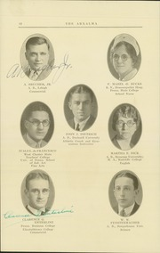 Page 14, 1929 Edition, Reading High School - Arxalma Yearbook (Reading, PA) online yearbook collection