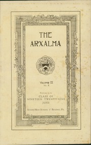 Page 3, 1929 Edition, Reading High School - Arxalma Yearbook (Reading, PA) online yearbook collection