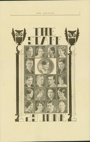 Page 7, 1929 Edition, Reading High School - Arxalma Yearbook (Reading, PA) online yearbook collection