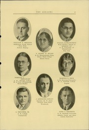 Page 13, 1930 Edition, Reading High School - Arxalma Yearbook (Reading, PA) online yearbook collection