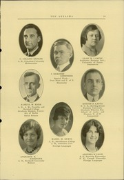Page 17, 1930 Edition, Reading High School - Arxalma Yearbook (Reading, PA) online yearbook collection