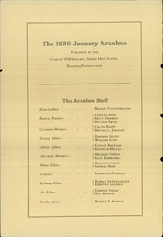 Page 6, 1930 Edition, Reading High School - Arxalma Yearbook (Reading, PA) online yearbook collection