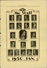 Page 7, 1930 Edition, Reading High School - Arxalma Yearbook (Reading, PA) online yearbook collection