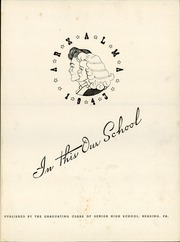 Page 5, 1943 Edition, Reading High School - Arxalma Yearbook (Reading, PA) online yearbook collection