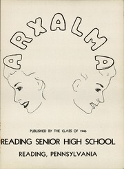 Page 5, 1946 Edition, Reading High School - Arxalma Yearbook (Reading, PA) online yearbook collection