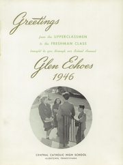 Page 5, 1946 Edition, Central Catholic High School - Glen Echoes Yearbook (Allentown, PA) online yearbook collection