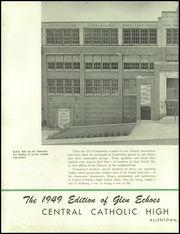 Page 6, 1949 Edition, Central Catholic High School - Glen Echoes Yearbook (Allentown, PA) online yearbook collection