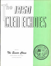 Page 5, 1950 Edition, Central Catholic High School - Glen Echoes Yearbook (Allentown, PA) online yearbook collection