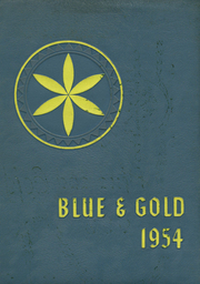 1954 Edition, Schuylkill Haven Area High School - Blue and Gold Yearbook (Schuylkill Haven, PA)