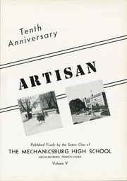 Page 9, 1940 Edition, Mechanicsburg High School - Artisan Yearbook (Mechanicsburg, PA) online yearbook collection
