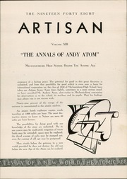 Page 7, 1948 Edition, Mechanicsburg High School - Artisan Yearbook (Mechanicsburg, PA) online yearbook collection