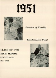 Page 7, 1951 Edition, Mechanicsburg High School - Artisan Yearbook (Mechanicsburg, PA) online yearbook collection