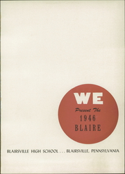 Page 5, 1946 Edition, Blairsville High School - Blaire Yearbook (Blairsville, PA) online yearbook collection