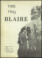 Page 6, 1952 Edition, Blairsville High School - Blaire Yearbook (Blairsville, PA) online yearbook collection
