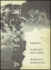 Page 7, 1952 Edition, Blairsville High School - Blaire Yearbook (Blairsville, PA) online yearbook collection