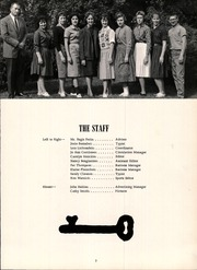 Page 10, 1961 Edition, Blairsville High School - Blaire Yearbook (Blairsville, PA) online yearbook collection