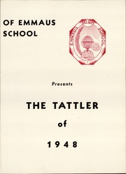Page 5, 1948 Edition, Emmaus High School - Tattler Yearbook (Emmaus, PA) online yearbook collection