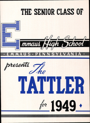 Page 7, 1949 Edition, Emmaus High School - Tattler Yearbook (Emmaus, PA) online yearbook collection