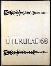 1968 Edition, Cathedral Preparatory School - Literulae Yearbook (Erie, PA)