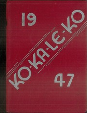 Page 1, 1947 Edition, Cocalico High School - Ko Ka Le Ko Yearbook (Denver, PA) online yearbook collection