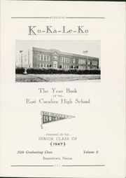 Page 5, 1947 Edition, Cocalico High School - Ko Ka Le Ko Yearbook (Denver, PA) online yearbook collection