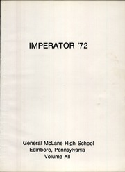 Page 5, 1972 Edition, General McLane High School - Imperator Yearbook (Edinboro, PA) online yearbook collection