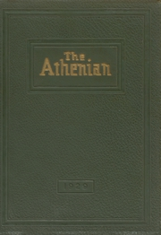 1929 Edition, Athens Area High School - Athenian Yearbook (Athens, PA)