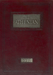 1930 Edition, Athens Area High School - Athenian Yearbook (Athens, PA)