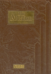 1932 Edition, Athens Area High School - Athenian Yearbook (Athens, PA)