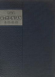 1933 Edition, Athens Area High School - Athenian Yearbook (Athens, PA)