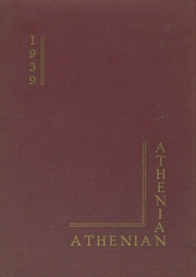 1939 Edition, Athens Area High School - Athenian Yearbook (Athens, PA)