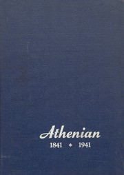 1941 Edition, Athens Area High School - Athenian Yearbook (Athens, PA)