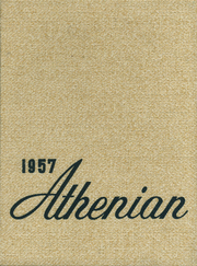 1957 Edition, Athens Area High School - Athenian Yearbook (Athens, PA)
