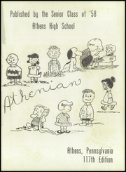 Page 5, 1958 Edition, Athens Area High School - Athenian Yearbook (Athens, PA) online yearbook collection