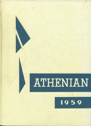 1959 Edition, Athens Area High School - Athenian Yearbook (Athens, PA)