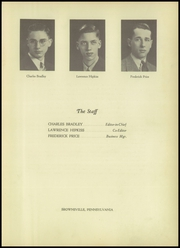 Page 7, 1938 Edition, Brownsville Area High School - Falcon Yearbook (Brownsville, PA) online yearbook collection