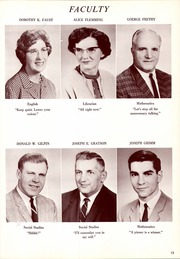 Page 17, 1967 Edition, Southmoreland Senior High School - Legend Yearbook (Alverton, PA) online yearbook collection