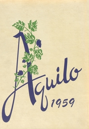 Page 1, 1959 Edition, North East High School - Aquilo Yearbook (North East, PA) online yearbook collection