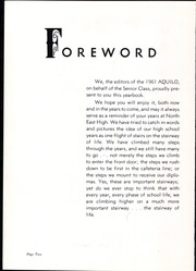 Page 6, 1961 Edition, North East High School - Aquilo Yearbook (North East, PA) online yearbook collection