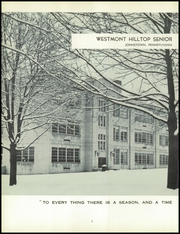 Page 6, 1959 Edition, Westmont Hilltop Senior High School - Phoenician Yearbook (Johnstown, PA) online yearbook collection