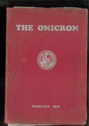 1928 Edition, David B Oliver High School - Omicron Yearbook (Pittsburgh, PA)