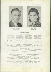 Page 13, 1939 Edition, David B Oliver High School - Omicron Yearbook (Pittsburgh, PA) online yearbook collection