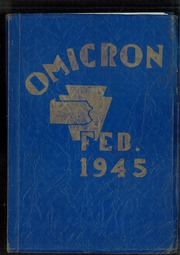 1945 Edition, David B Oliver High School - Omicron Yearbook (Pittsburgh, PA)