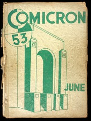 1953 Edition, David B Oliver High School - Omicron Yearbook (Pittsburgh, PA)