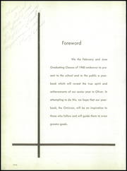Page 6, 1960 Edition, David B Oliver High School - Omicron Yearbook (Pittsburgh, PA) online yearbook collection