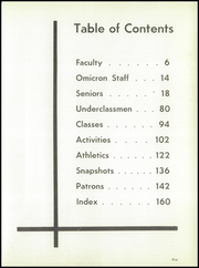 Page 9, 1960 Edition, David B Oliver High School - Omicron Yearbook (Pittsburgh, PA) online yearbook collection
